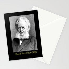 Schaarwachter  Portrait of Ibsen Stationery Cards