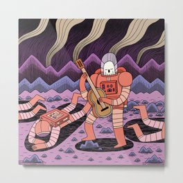 In Space, No one can Hear you Metal Print