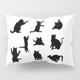 Cat Silhouette Pillow Sham