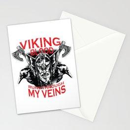 Viking blood Stationery Cards