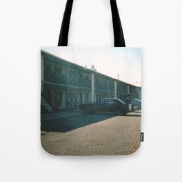 Route 66 Motel Tote Bag