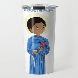 St.Benedict of Palermo Travel Mug