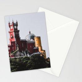 The colourful Palacio da pena, Sintra, Portugal Stationery Cards