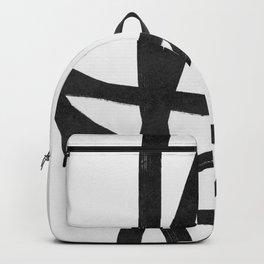 Lines brush movement minimal Backpack