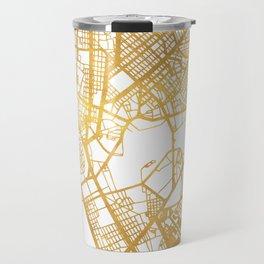 MANILA PHILIPPINES CITY STREET MAP ART Travel Mug