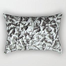 Crumpled paper. Rectangular Pillow