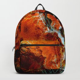 Amber Soul Wisdom Veins Backpack