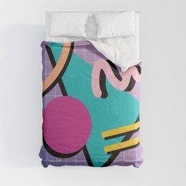 Memphis Pattern 10 - 90s - Retro Comforters