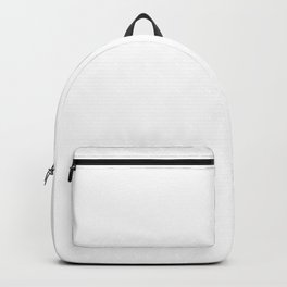 Classic White - Pure And Simple Backpack