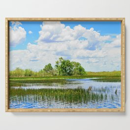 Everglades Reflections Serving Tray