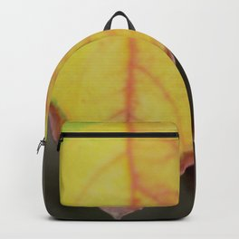 Red and Yelow Leaf Backpack