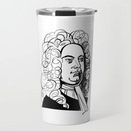George Frideric Handel Travel Mug
