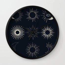 Celestial Visible Heaven Wall Clock