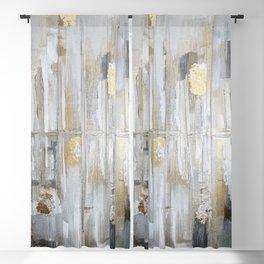 Metallic Abstract Blackout Curtain
