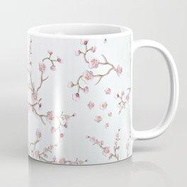 SAKURA LOVE - GRUNGE WHITE Coffee Mug