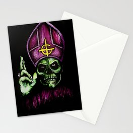 Papa Emeritus  Stationery Cards