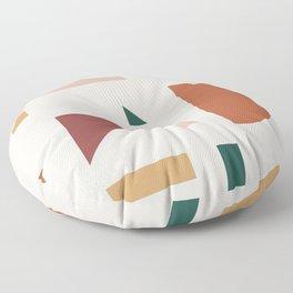 Abstract Geometric 30 Floor Pillow