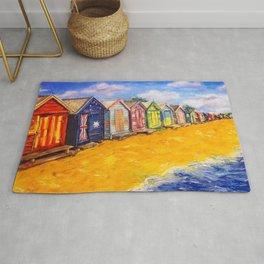 Beach Houses Rug