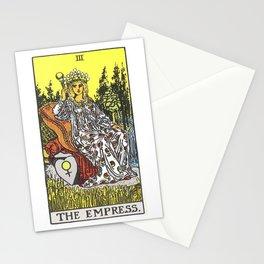 Empress Tarot Stationery Cards