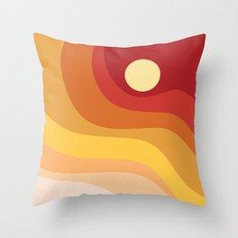 Geometric Shapes // Sunshine Throw Pillow