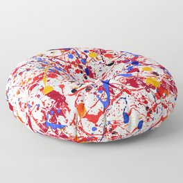 Primary Colors Floor Pillow