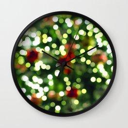 Christmas Greetings Wall Clock