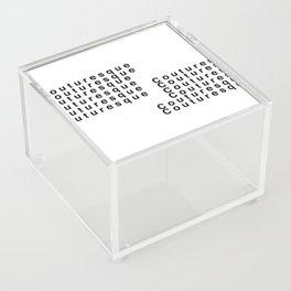 Couturesque Logo - Multi Acrylic Box