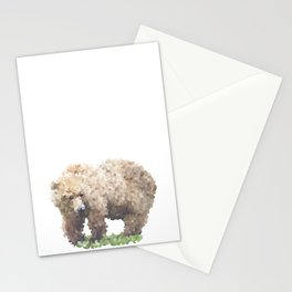 Penrose Tiling Bear Stationery Cards