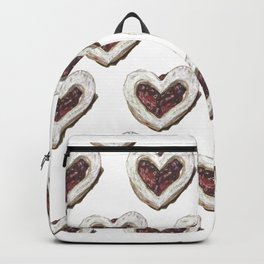 Valentine Heart Cookie Pattern Backpack