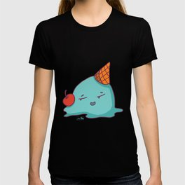 Melted Ice Cream with Red Cherry T-shirt
