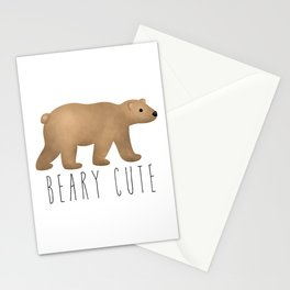 Beary Cute Stationery Cards