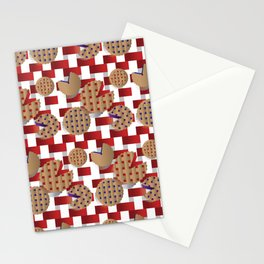 Pacman Pie Picnic Stationery Cards