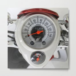indicator speed 3 Metal Print
