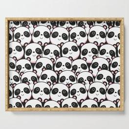 I Love Panda Serving Tray
