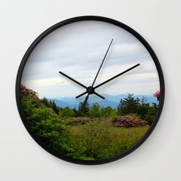 Pictures USA Carolina Roan Mountain Rhododendron Gardens Nature park Shrubs Parks Bush Wall Clock