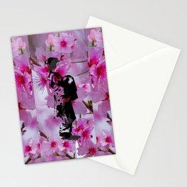 Spring Oiran Stationery Cards