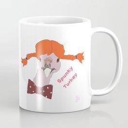 Spunky Turkey Orange Hair TX Coffee Mug