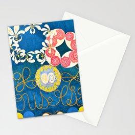 Hilma af Klint - Group IV, The Ten Largest, No. 1, Childhood - Digital Remastered Edition Stationery Cards