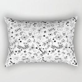 Traditional tattoo Rectangular Pillow