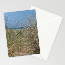 Tall grass on Scottish beach Stationery Cards