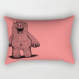 Not Your Average Kid Across the Block Rectangular Pillow