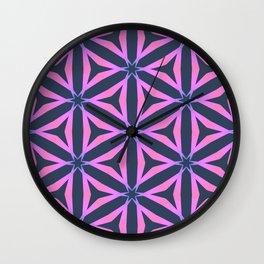 Triangular Gradient Grid  Wall Clock
