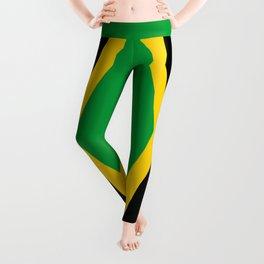 Flag of Jamaica - Jamaican flag Leggings