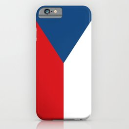 Flag of Czech Republic iPhone Case