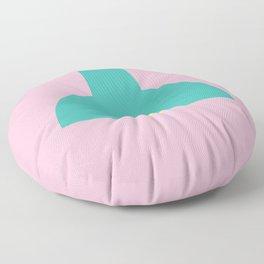 #64 Industrial Light Floor Pillow