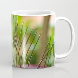 Peacock Feather in Nature Coffee Mug