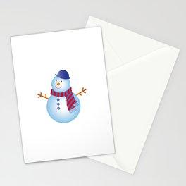 SNOW MAN Stationery Cards