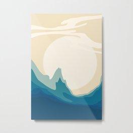 Modern Abstract Art Metal Print