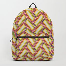 PINBALL hand-drawn channels and bright lights create retro vibe Backpack