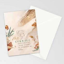 My Courage  Stationery Cards